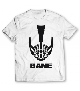 bane mask printed graphic t-shirt